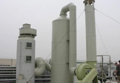 玻璃钢酸雾净化塔环保设备